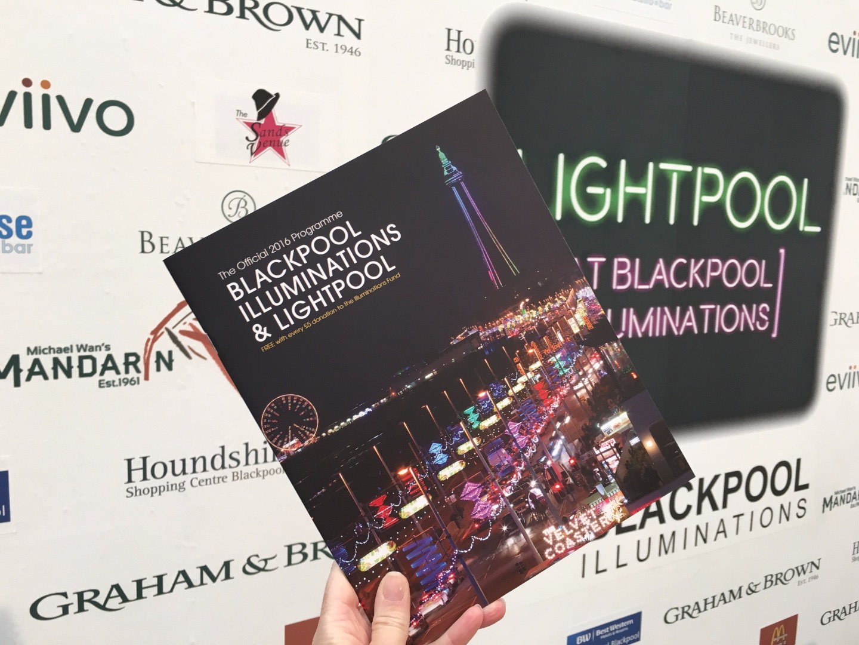 Blackpool Illuminations Souvenir Brochure