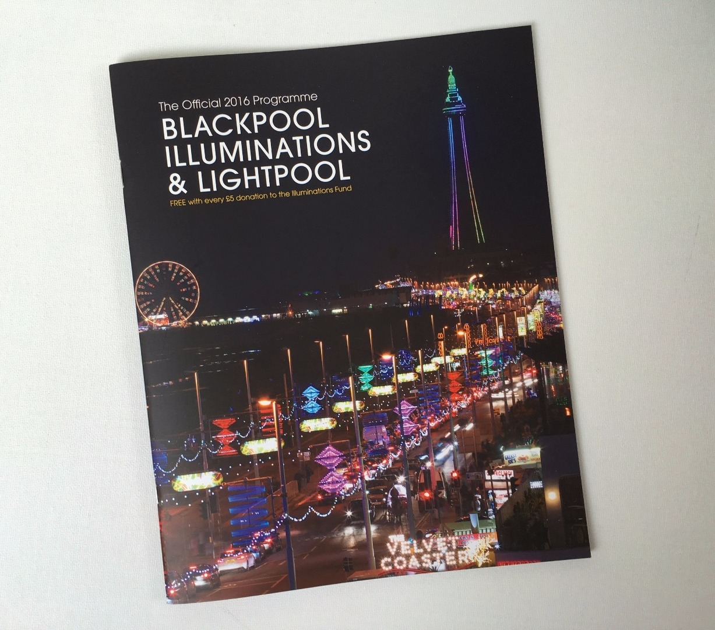 Blackpool Illuminations Souvenir Brochure 2016