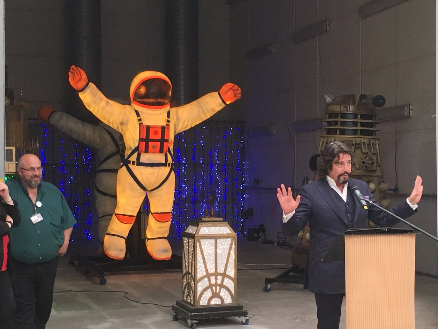 Laurence Llewelyn Bowen at the Blackpool Illuminations season launch, unveiling new Illuminations for 2017
