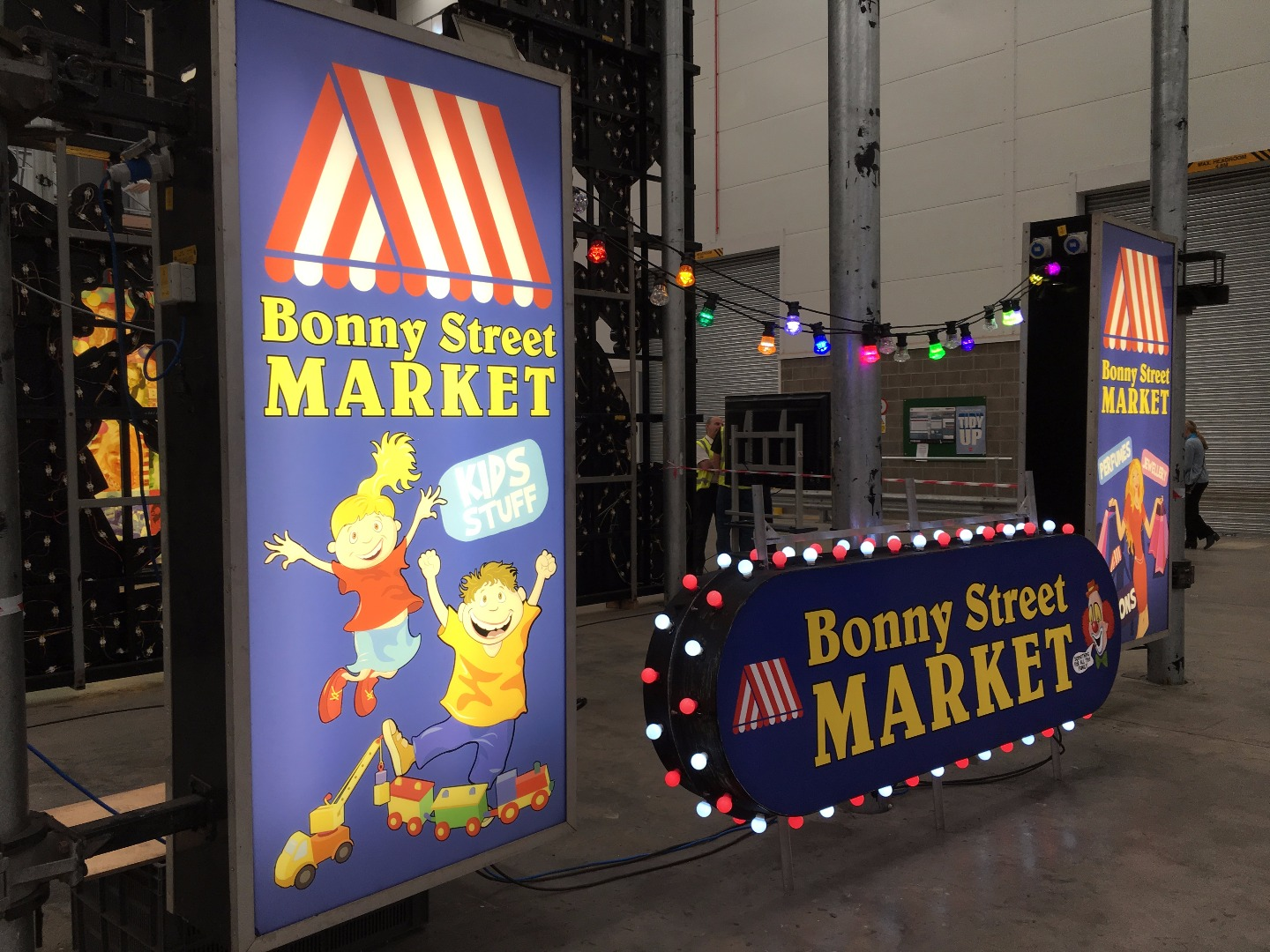 Bonny Street Market, new Illuminations for 2017