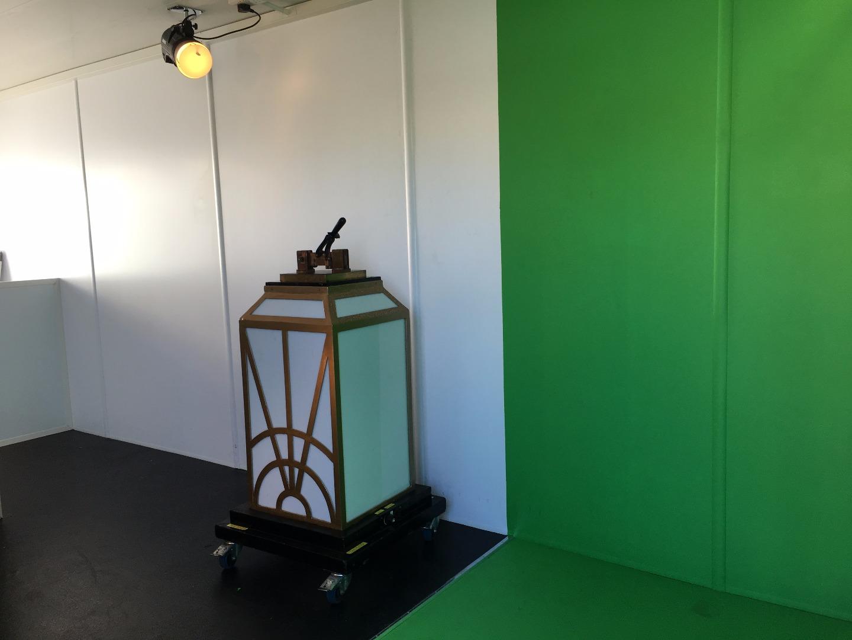LightPool Village green screen photo booth