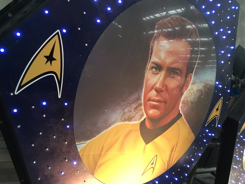Star Trek display new to Blackpool Illuminations