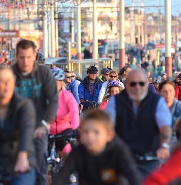 Ride the Lights, a fun evening for all the family, on foot or on a push bike