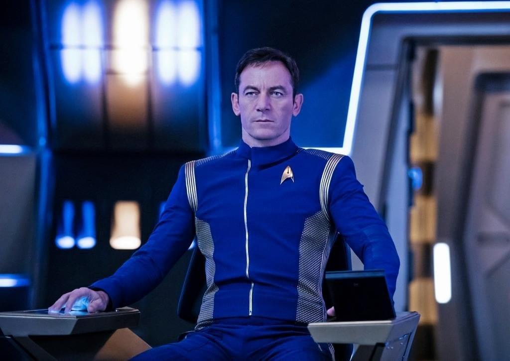 Star Treks Gabriel Lorca appears at Blackpool Illuminations Switch On 2017