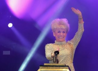 Dame Barbara Windsor Switches on the Blackpool Illuminations