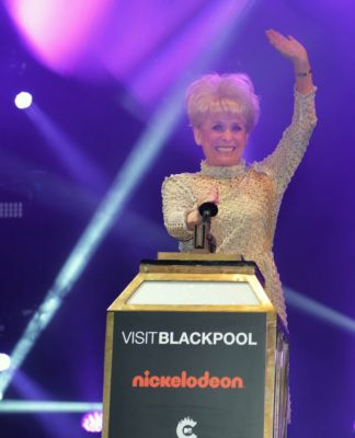 Dame Barbara Windsor Switches on the Blackpool Illuminations