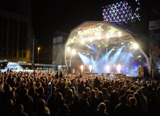 Blackpool Illuminations Switch On Stage 2016