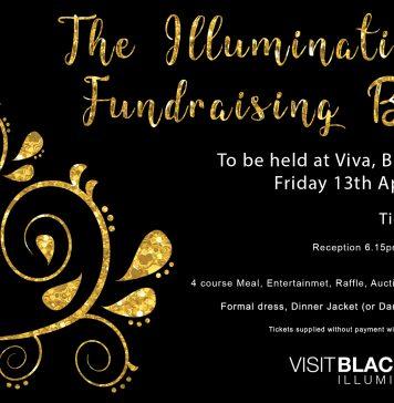 annual Blackpool Illuminations Fundraising Ball.