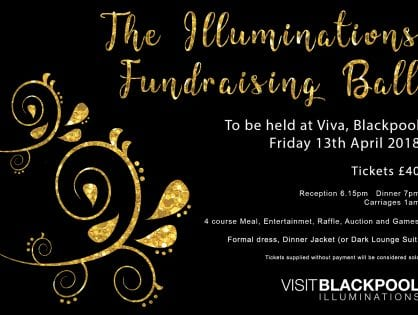 Annual Blackpool Illuminations Fundraising Ball