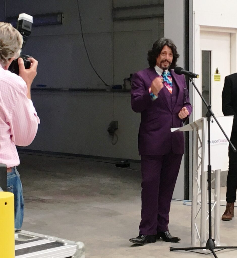Laurence Llewelyn Bowen, Creative Curator of Blackpool Illuminations