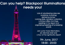 Volunteering Event Blackpool Illuminations 2017