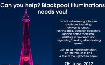 Volunteering Event Blackpool Illuminations 2017