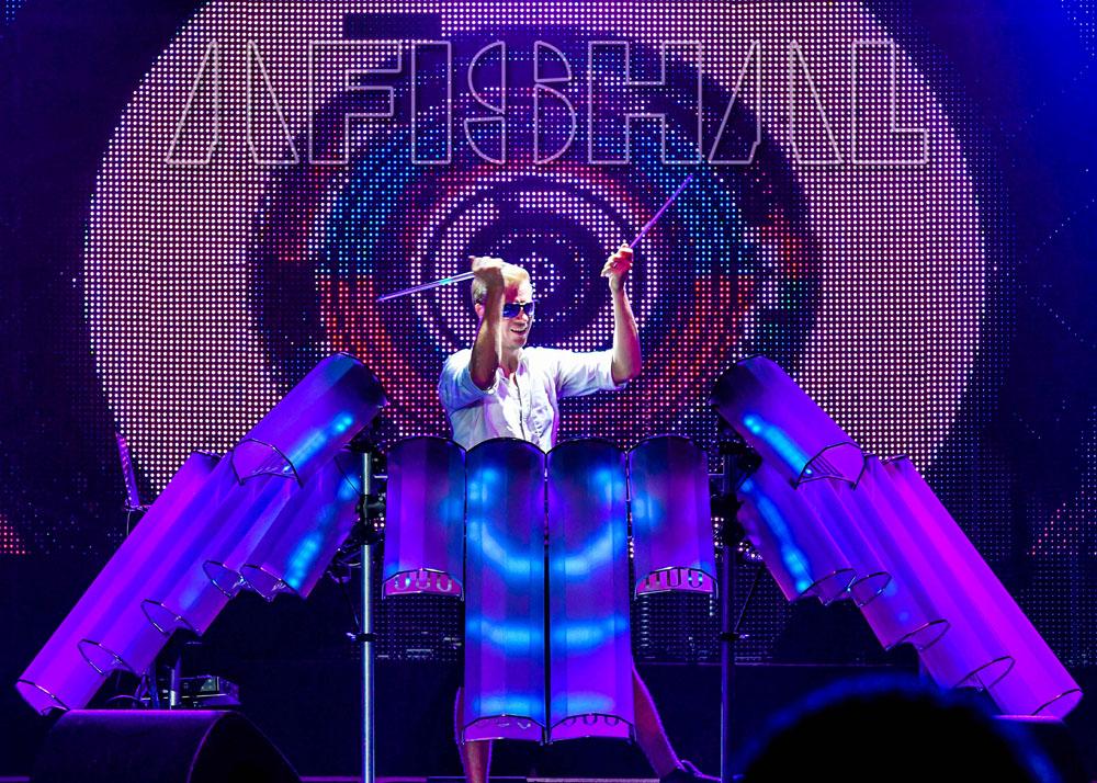 AFISHAL performs at LightPool Festival