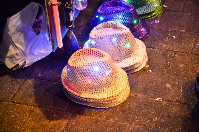 Light up merchandise at Blackpool Illuminations