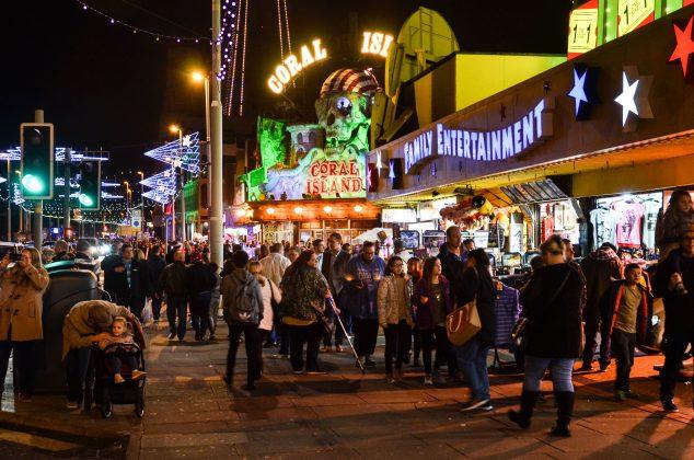 Blackpool Central Promenade