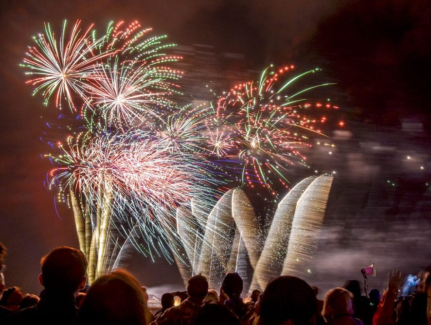 World Fireworks Competition - Photo Gallery