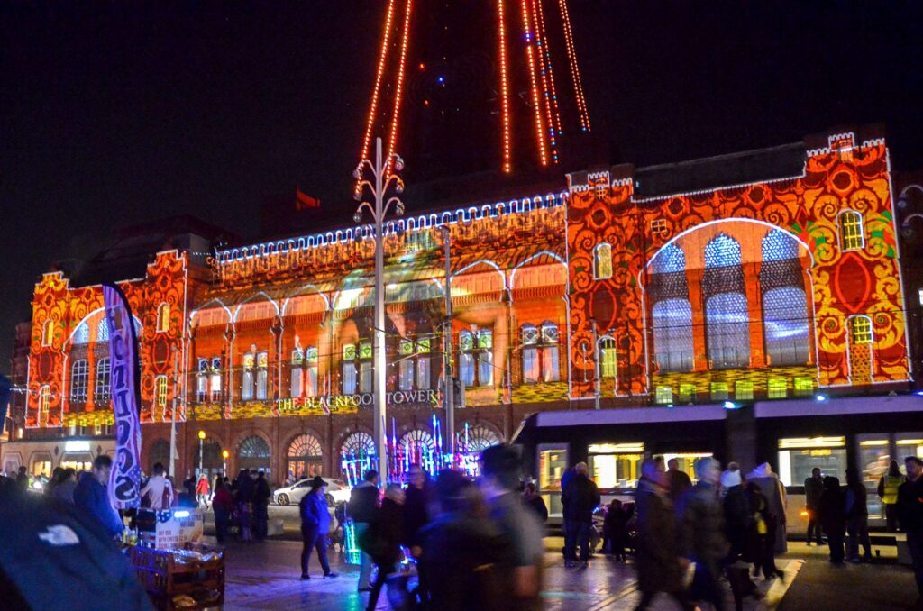 LightPool Digital Projection Shows on Blackpool Tower