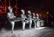 Spark Led Drummers Lightpool Festival 2016