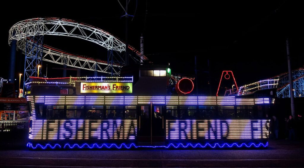 Blackpool Illuminated Tram, Fisherman's Friend Trawler Tram