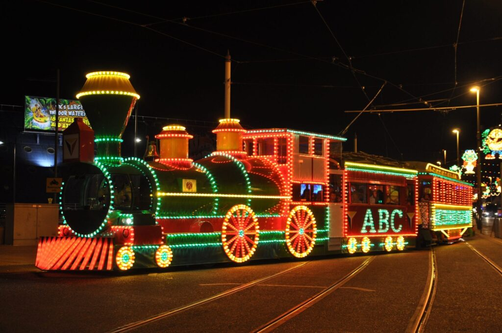 Blackpool Illuminated Heritage Tram, Western Train