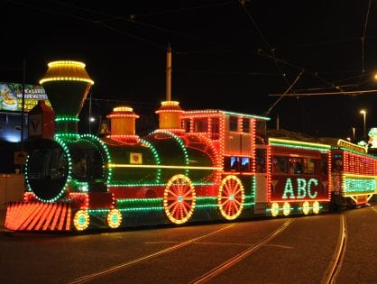 Illuminated Heritage Trams