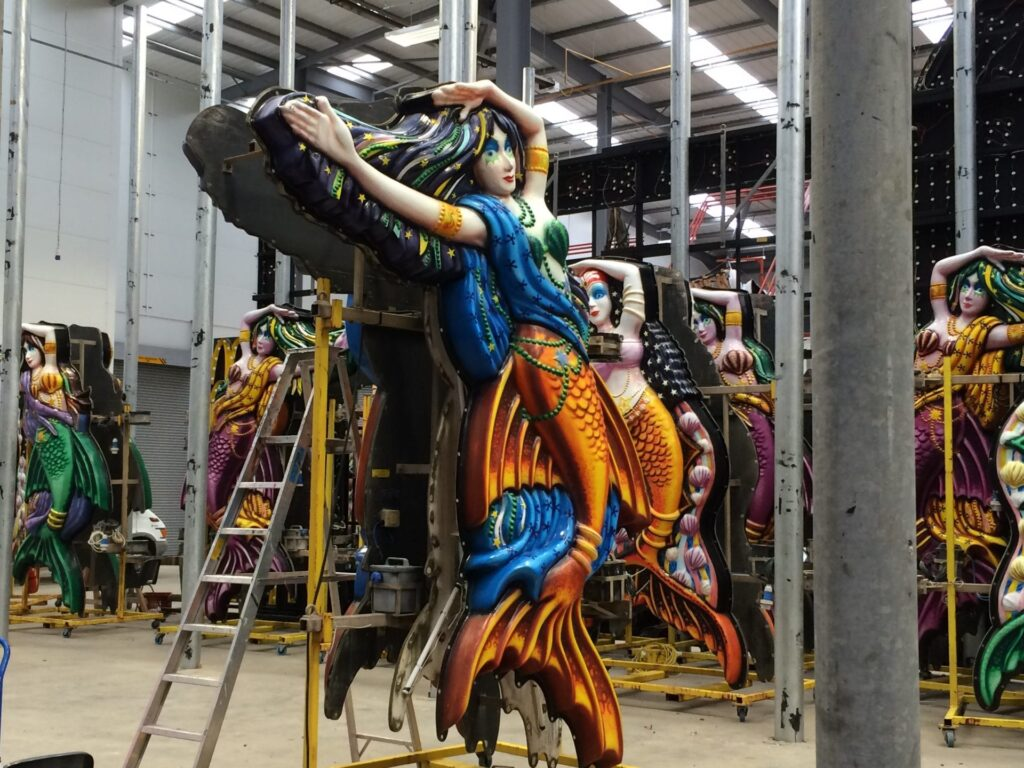 Blackpool Illuminations being made at Lightworks