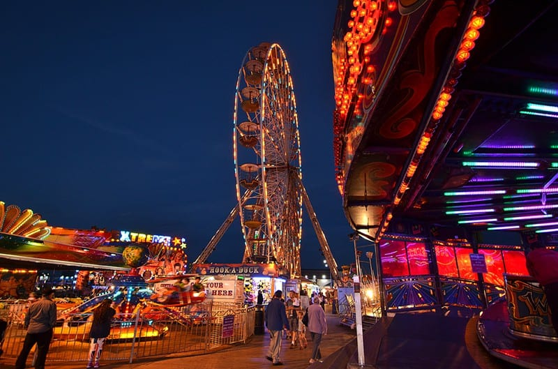 Central Pier - find out about Blackpool Illuminations