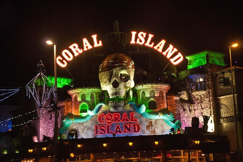 Coral Island on Blackpool Promenade, find out about Blackpool Illuminations