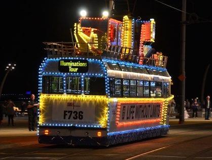 HMS Blackpool Tram