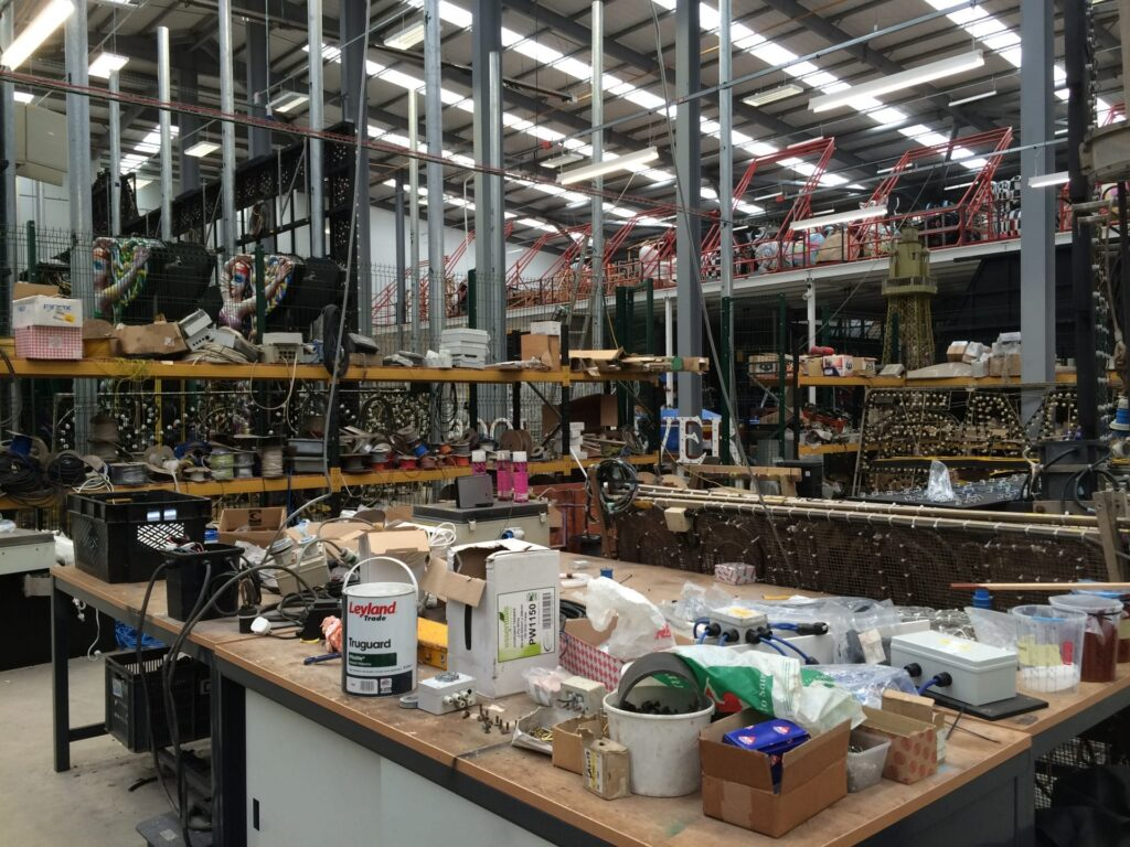 Inside Lightworks where the Blackpool Illuminations are made