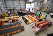 Lightworks - the Blackpool Illuminations Depot where the Lights are made