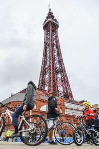 Blackpool Illuminations Ride the Lights 2017
