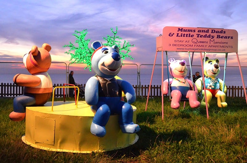 Teddy Bears at Bispham, part of Blackpool Illuminations