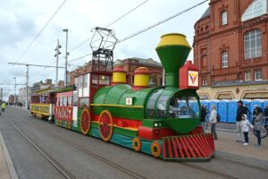 Western Train Tram Ride the Lights 2017 photos