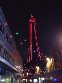 Blackpool Tower by LM Delacy