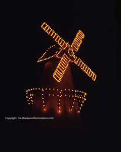 Windmill at Manchester Square - Old Blackpool Illuminations photos