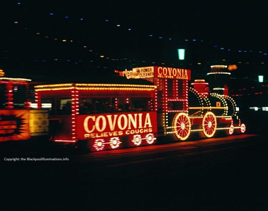 Western Train - Old Blackpool Illuminations photos