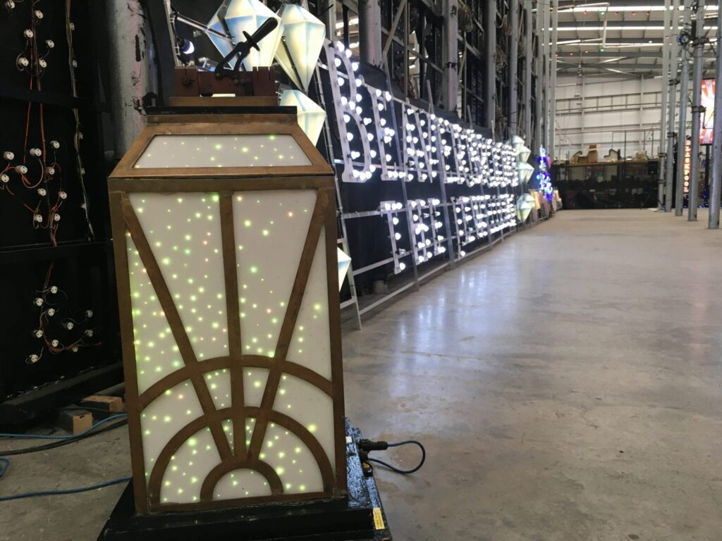 Beaverbrooks display - new illuminations for 2018