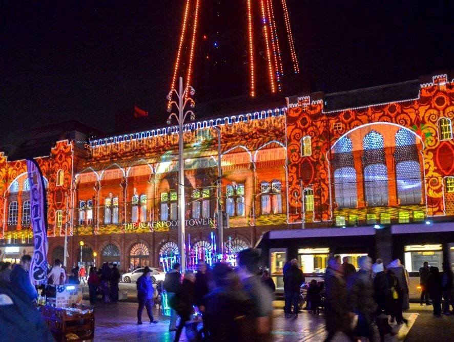 LightPool - 3D Light Shows on Blackpool Tower