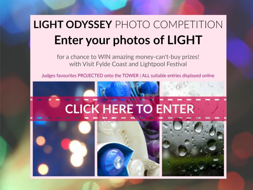 Light Odyssey Photo Competition 2018 with Visit Fylde Coast and Lightpool