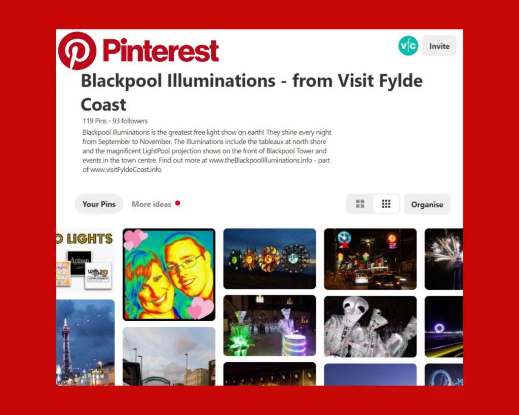 Blackpool Illuminations Pinterest Board from Visit Fylde Coast