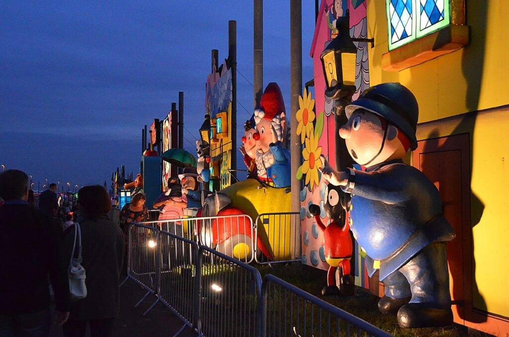 Noddy Tableau in the Blackpool Illuminations