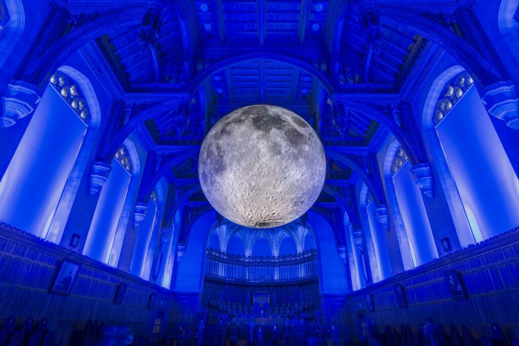 Museum of the Moon at Lightpool Festival