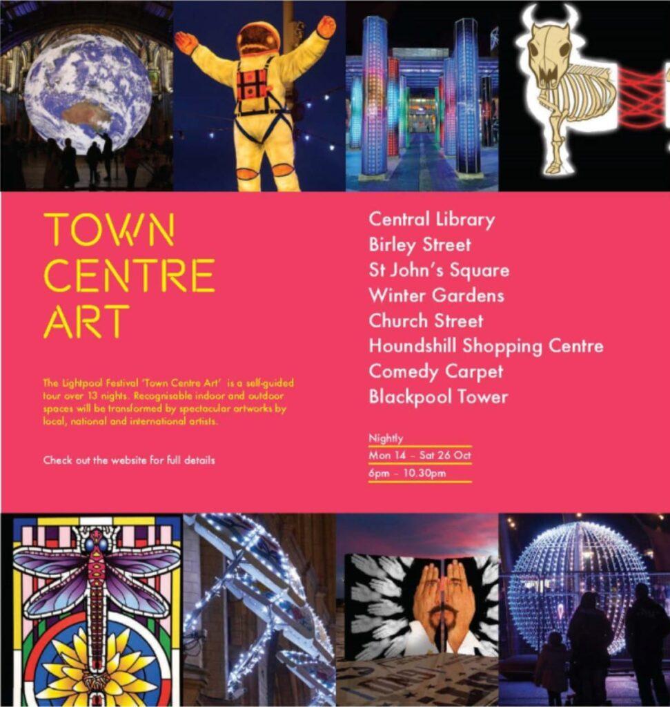 Lightpool Town Centre art trail