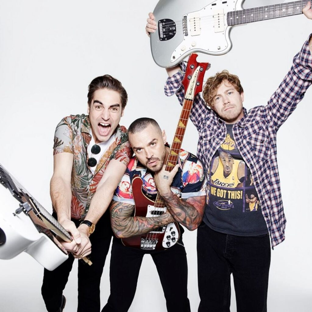 Busted at Blackpool Illuminations Switch On 2019